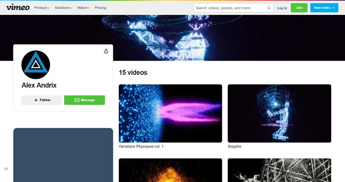 Videos on Vimeo